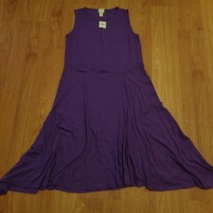 New w/ tags! CHICO'S Lovely Purple Dress Sz M (1)